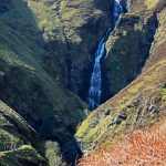 Gey Mare's Tail waterfall