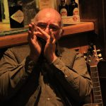 Fraser Spiers playing in the Annandale Arms Hotel bar