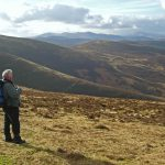 Hills high above Stobo, Peebleshire